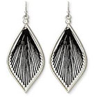 Target Dreamcatcher Earrings - Black/Silver