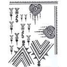 Lagoon House HENNA Temporary Tattoos: Ornate Hand Design Kit