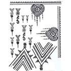 Lagoon House HENNA Temporary Tattoos: Ornate Hand Design Kit