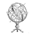 The Fickle Tattoo Vintage Armillary Sphere Temporary Tattoo -