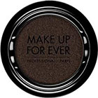 Make Up For Ever Artist Shadow Eyeshadow and powder blush in ME624 Black Gold (Metallic) eyeshadow