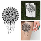 Tattify Dreamcatcher Mandala Temporary Tattoo - Dream (Set of 2)