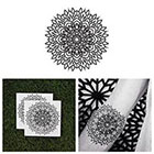 Tattify Mandala Flower Temporary Tattoo - Enlighten (Set of 2)