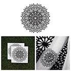 Tattify Mandala Flower Temporary Tattoo - Enlighten (Set of 2)