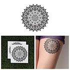 Tattify Detailed Mandala Temporary Tattoo - Sacred (Set of 2)