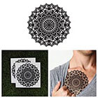 Tattify Large Mandala Temporary Tattoo - Pollinate (Set of 2)