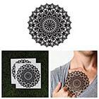 Tattify Large Mandala Temporary Tattoo - Pollinate (Set of 2)