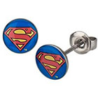 DC Comics DC Comics Superman Stainless Steel Stud Earrings