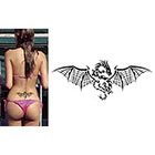 TattooGirlsRule Large Flying Dragon Temporary Tattoo (#BR532B)