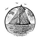 WildLifeDream Vintage boat - temporary tattoo