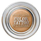 Maybelline Eye Studio Eye Studio Color Tattoo 24HR Cream Gel Eyeshadow in Bold Gold