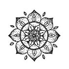Tattoorary Mandala temporary tattoo