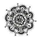 Tattoorary Mandala temporary tattoo
