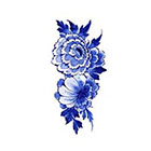 Tattoorary Floral vintage Dutch 'Delfts Blauw' temporary tattoo