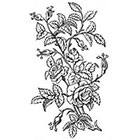 Tattoorary Temporary tattoo with vintage roses (floral temporary tattoo)
