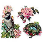 Tattoorary Spring temporary tattoo set (3 pieces)