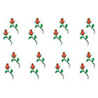 TattooGirlsRule 16 Small Rosebud Temporary Tattoos #R413_8