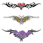 TattooGirlsRule 3 Lower Back Temporary Tattoos (#G505)