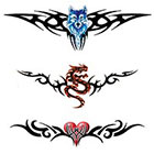 TattooGirlsRule 3 Lower Back or Wherever Temporary Tattoos (#G506)