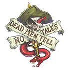 TattooGirlsRule Dead Men Tell No Tales Pirate Temporary Tattoo (#PIR514)