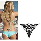 TattooGirlsRule Black Celtic Design Temporary Tattoo (#D537)