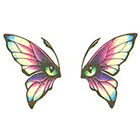 TattooGirlsRule Butterfly Eyes Temporary Tattoo (#BC502)