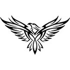TattooGirlsRule Eagle Temporary Tattoo (#BC588)