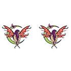 TattooGirlsRule 2 Fairy on tht Moon Temporary Tattoos (#D402_2)