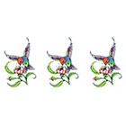 TattooGirlsRule 3 Small Humming Bird Temporary Tattoos (#D344_3)