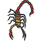 TattooGirlsRule Yellow Scorpion Temporary Tattoo (#TH523)