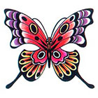TattooGirlsRule Swallowtail Butterfly Temporary Tattoo (#AS502)