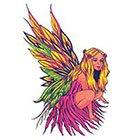 TattooGirlsRule Forest Faery Temporary Tattoo (#FL427)