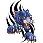 TattooGirlsRule Black Panther Temporary Tattoo (#VS452)