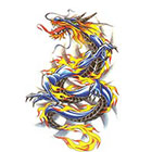 TattooGirlsRule Chinese Dragon Temporary Tattoo (#BC528)