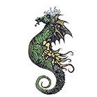 TattooGirlsRule Seahorse Temporary Tattoo (#AA503)