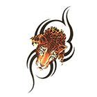 TattooGirlsRule Tribal Leopard Temporary Tattoo (#BC526)