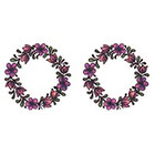 TattooGirlsRule 2 Purple Flower Ring Temporary Tattoos (#D426_2)