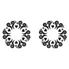 TattooGirlsRule 2 Hearts Ring Temporary Tattoos (#D451_2)