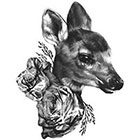 WildLifeDream Deer - Temporary tattoo