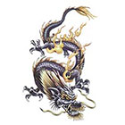 TattooGirlsRule Large Chinese Dragon Temporary Tattoo #DR802