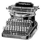 WildLifeDream Vintage typewriter - Temporary tattoos