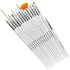 Beaute Galleria Beaute Galleria - 15 pcs Nail Art Brush Set