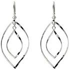Target Sterling Silver Twisted Dangle Earrings