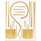 Lulu DK M'O Exclusive: Lulu DK x Gold Tattoos in Gold
