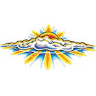 TattooGirlsRule Sun Behinf Cloud Temporary Tattoo (#EG514)