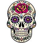 WildLifeDream Dia de los muertos Skull - Temporary tattoo