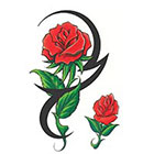 TattooGirlsRule 2 Rose Temporary Tattoos (#DB523)