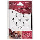 Cina Nail Creations Nail Art Jewelry Decals Ice Sparkles Rhinestones in Twilight Twinkles