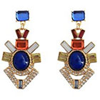 Target Statement Earrings - Multicolor