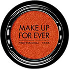 Make Up For Ever Artist Shadow Eyeshadow and powder blush in ME734 Tangerine (Metallic) powder blush